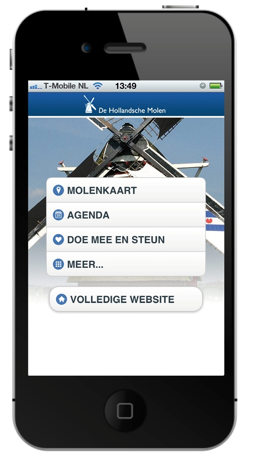 MolenApp iphone