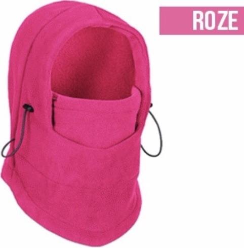 Pink ski cap