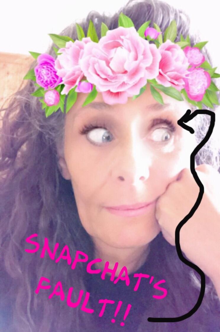 Snapchat's fault Celesta