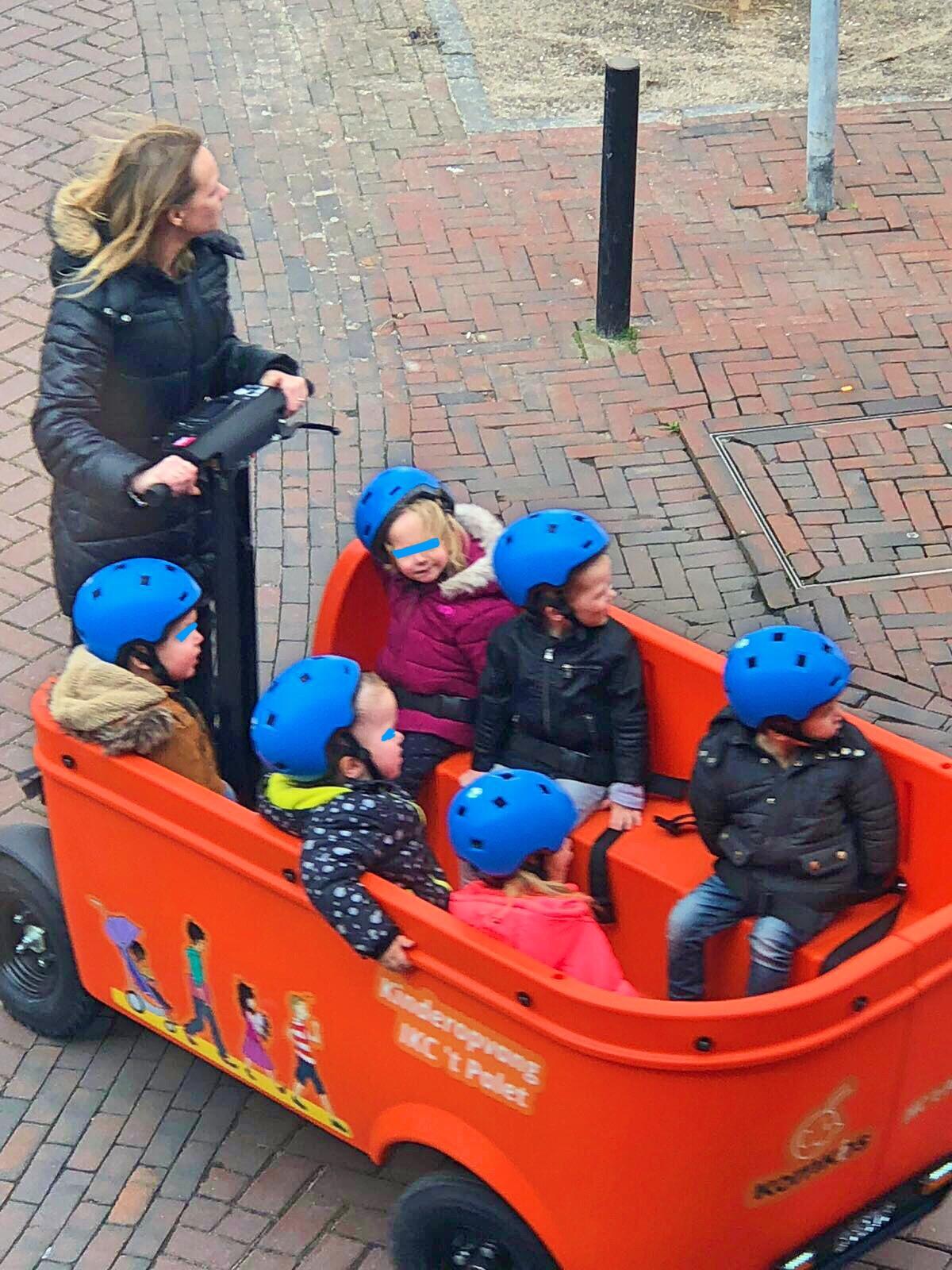Segway daycare child transport