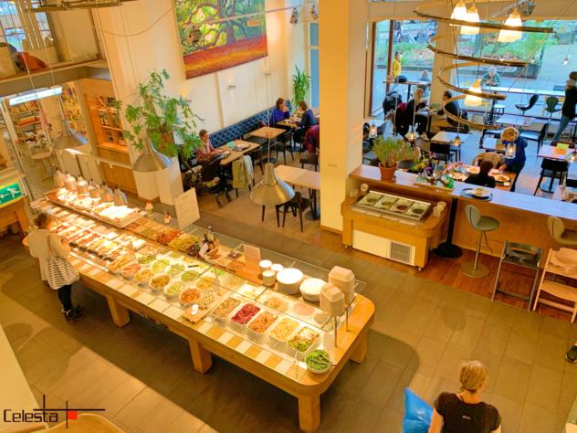 Vegetarian buffet restaurant 